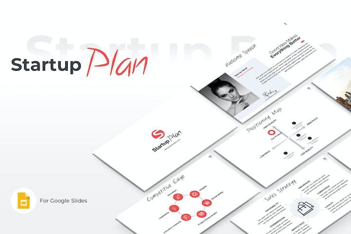 Startup Plan Google Slides Template