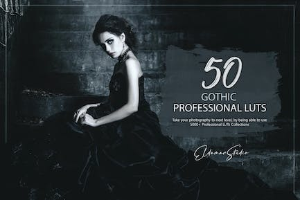 50 Gothic LUTs Pack