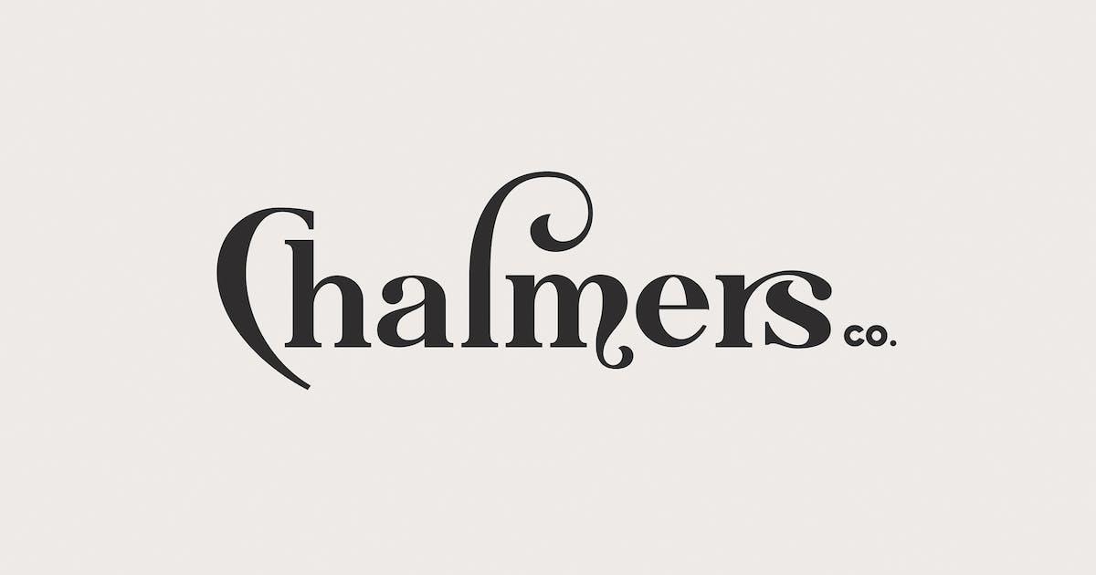 Chalmers Type by swistblnk