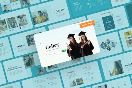 Colleg - Education PowerPoint Presentation