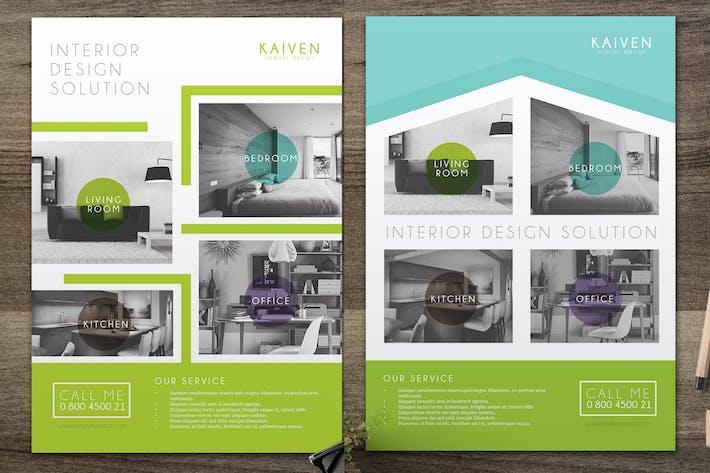 Thumbnail for Interior Design Flyer