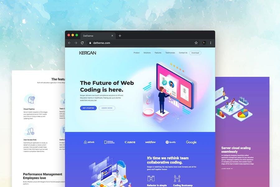 Kergan - Digital Startup HTML Templates