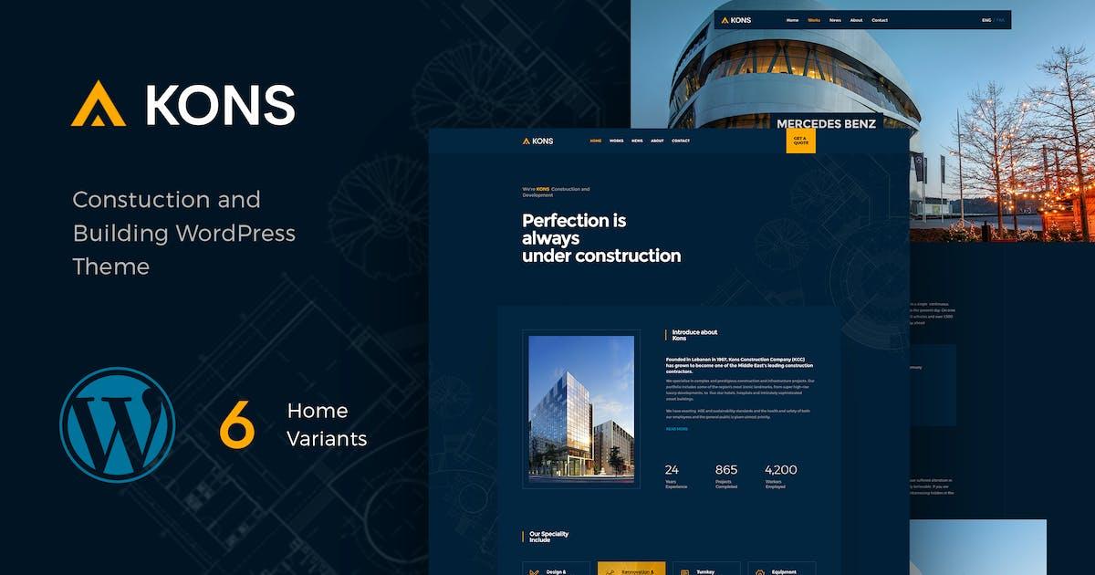 Download Kons - Construction WordPress Theme by paul_tf