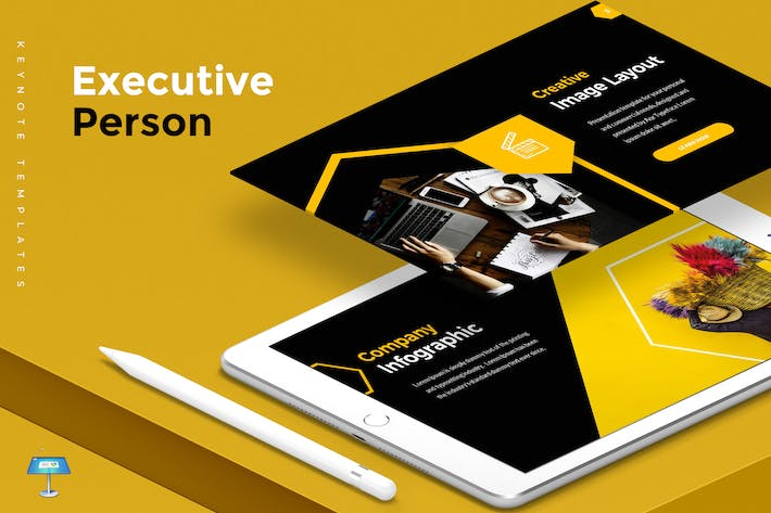 Thumbnail for Executive Person - Keynote Template