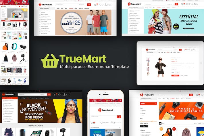 Cover Image For TrueMart - Mega Shop OpenCart Thème