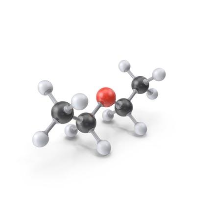 Молекула диэтилэфира