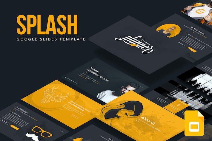 Thumbnail for Splash Google Slides Template