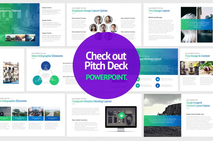 Thumbnail for Pitch Deck Start Up- PowerPoint