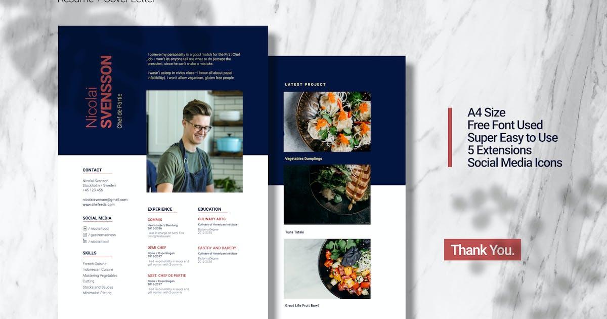 Download Chef Resume Presentation by celciusdesigns
