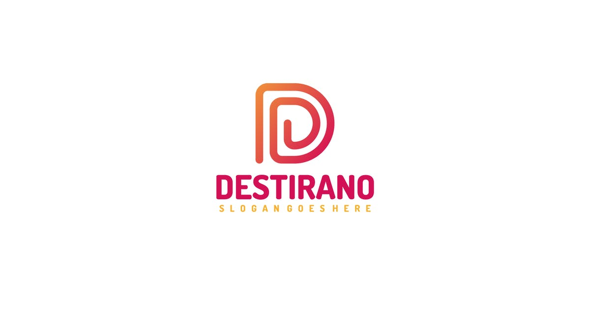 Download D Lines-Letter Logo by 3ab2ou