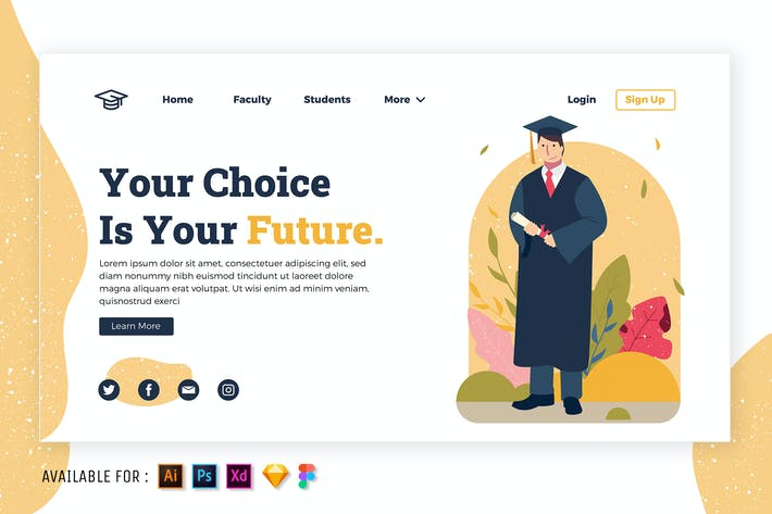 Thumbnail for Graduation Day - Flat Illustration