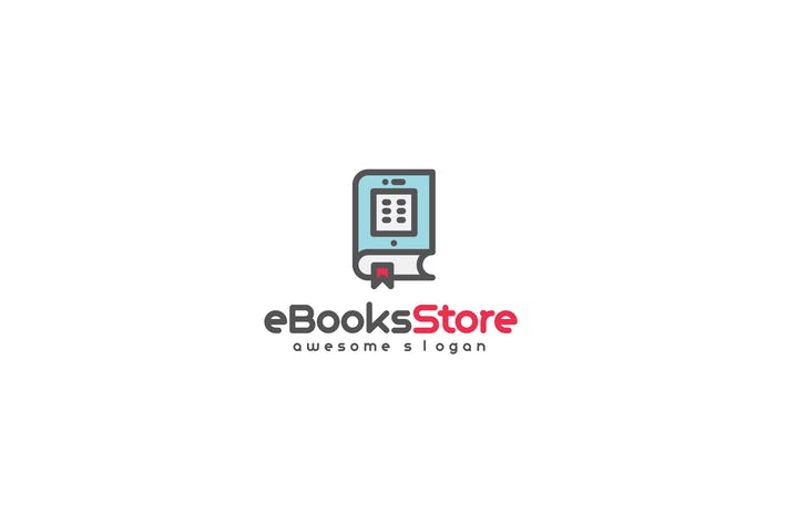 Thumbnail for eBook store logo template