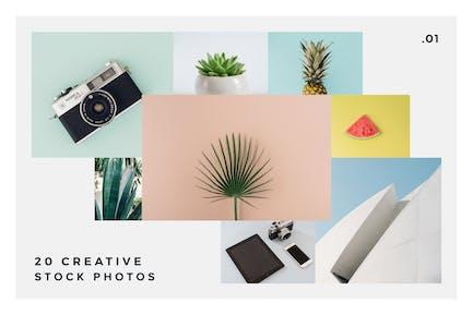 20 Stock Photos Creative Pack vol.1