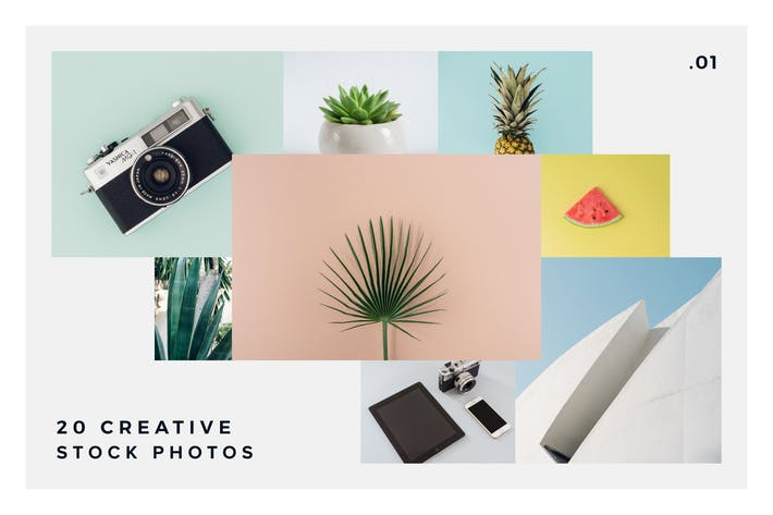 Thumbnail for 20 Stock Photos Creative Pack vol.1