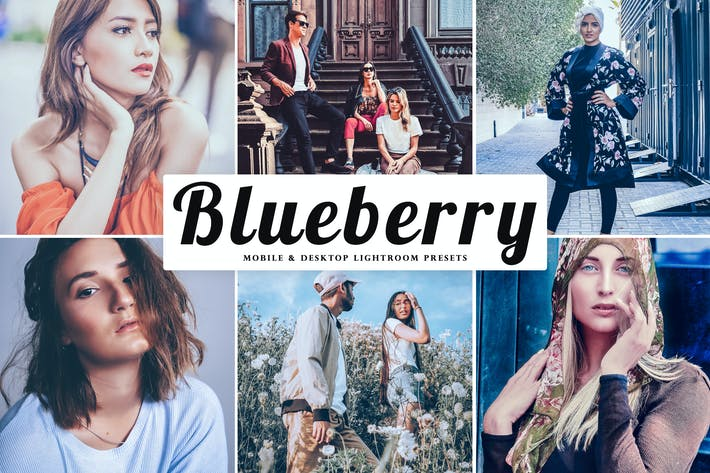 Thumbnail for Blueberry Mobile & Desktop Lightroom Presets