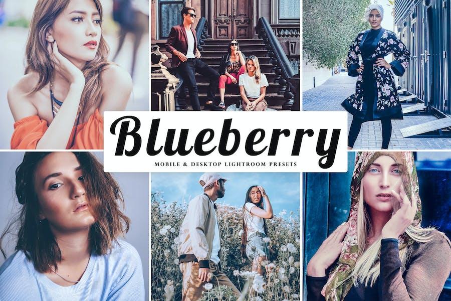 Blueberry Mobile & Desktop Ajustes preestablecidos de Lightroom