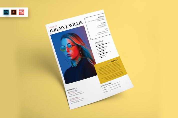 Resume CV Template-80
