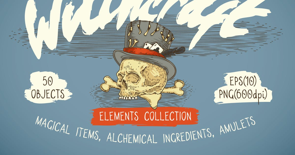 Download Witchcraft Illustration Collection by deepfuze