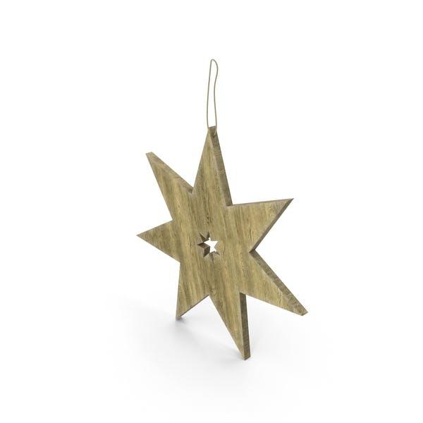 Cover Image for Christmas Wood Star