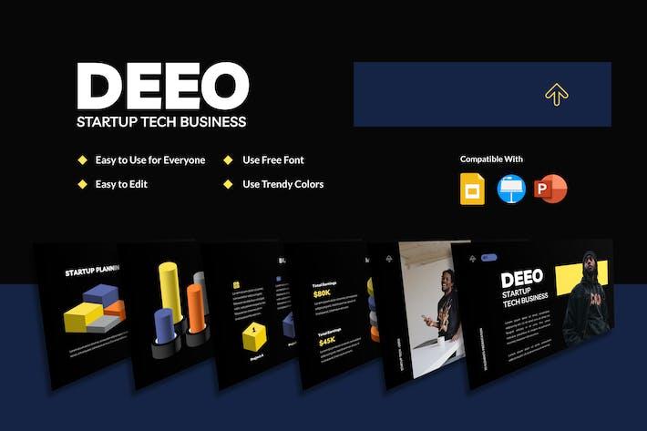 DEEO - 3D Elements Presentation (NIGHT)