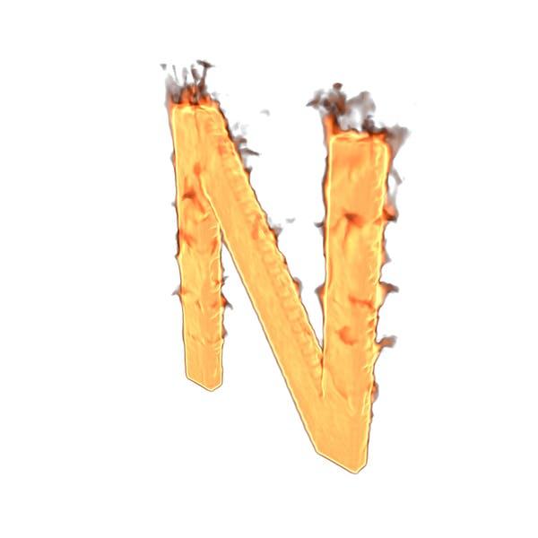 Thumbnail for Fire Letter N