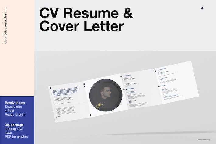 Thumbnail for CV Resume / Cover Letter
