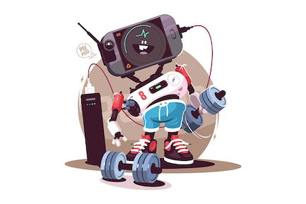 Robot Fitness Instructor