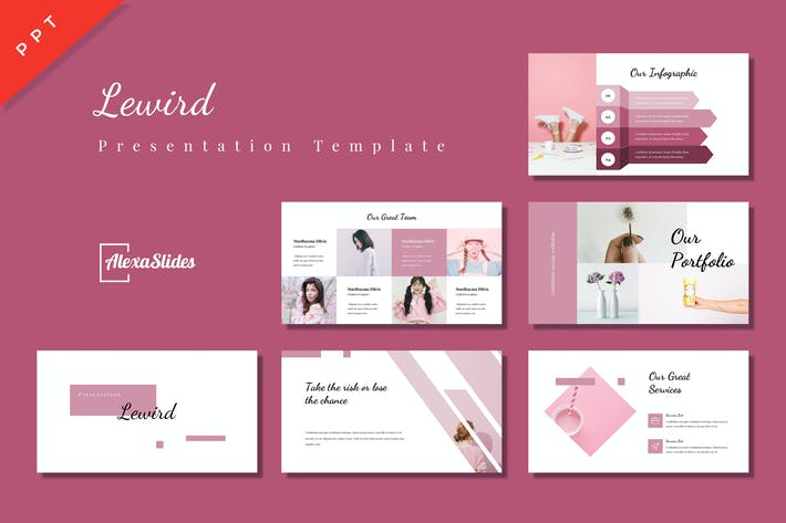 Thumbnail for Lewird - Powerpoint Presentation Template