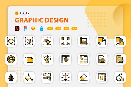 Fristy - Graphic Design Icons
