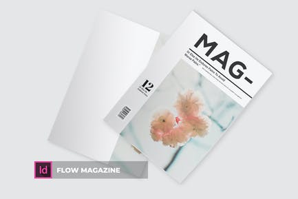 Flow | Magazine Template