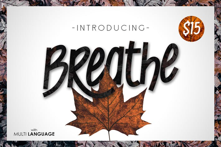 Thumbnail for Breathe Typeface