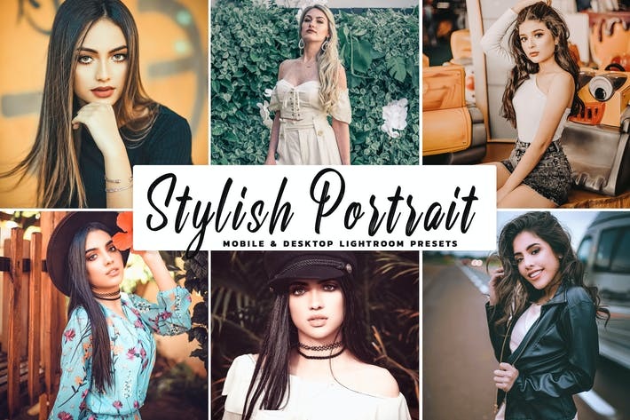 Thumbnail for Stylish Portrait Pro Lightroom Preset