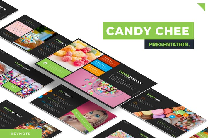 Thumbnail for CandyChee - Google Slides Template
