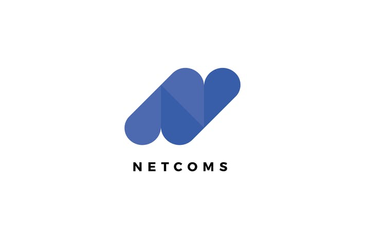 Thumbnail for Netcoms N Letter Logo Template