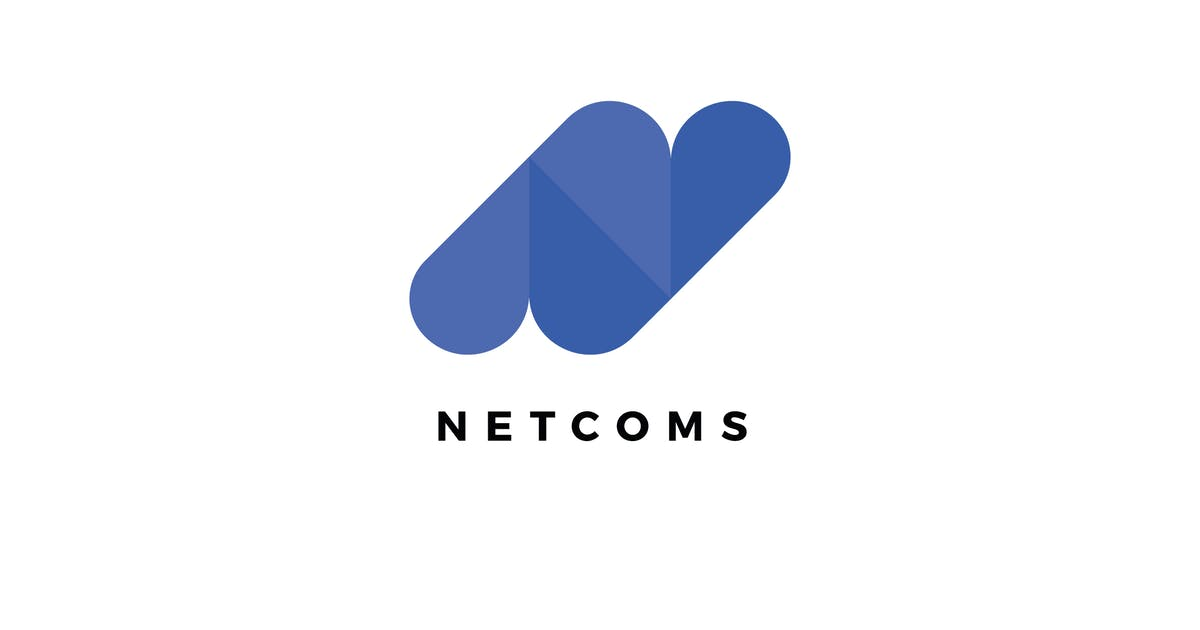 Download Netcoms N Letter Logo Template by Pixasquare