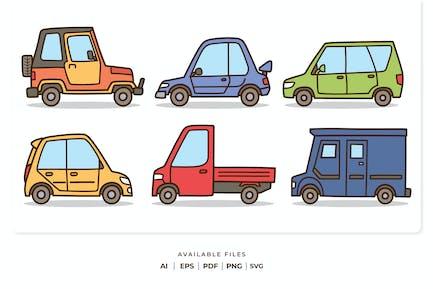 Car Cartoon Collection