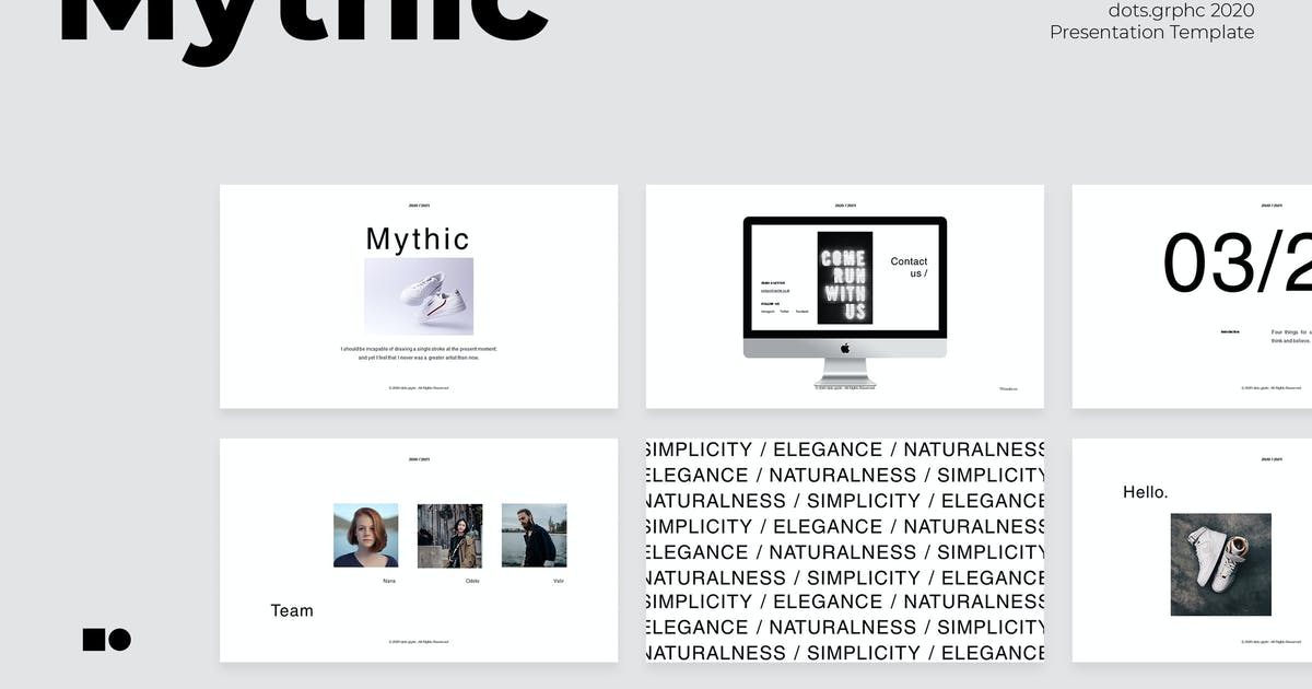Download Mythic - Powerpoint by graptailtype