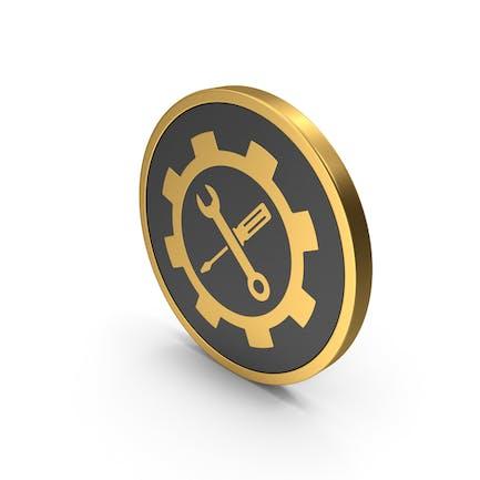 Gold Icon Tools