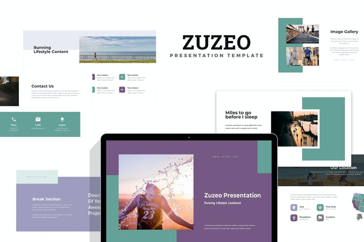 Thumbnail for Zuzeo : Running Lifestyle Google Slides