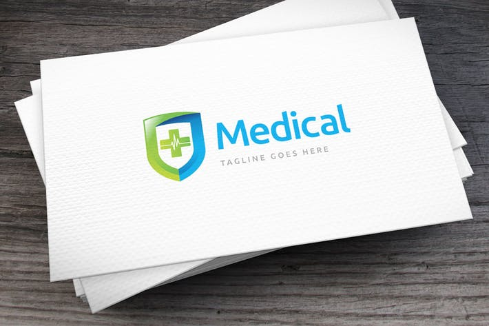 Thumbnail for Medical Logo Template