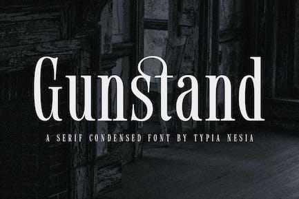 Gunstand - Classy Condensed Serif
