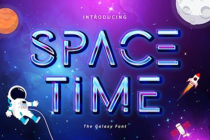Temps de l'espace