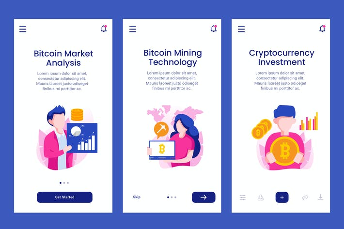 Thumbnail for Onboarding Screen For Bitcoin Technology Apps