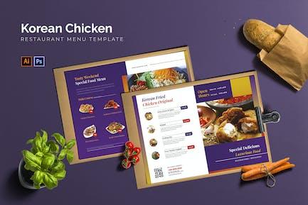 Korean Chicken - Restaurant Menu