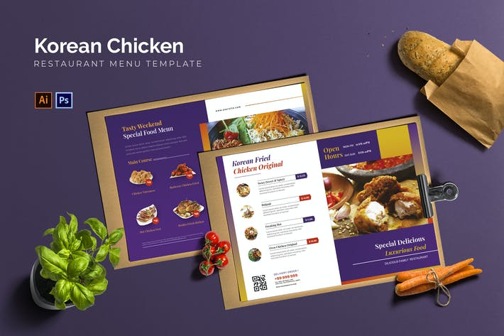 Thumbnail for Korean Chicken - Restaurant Menu