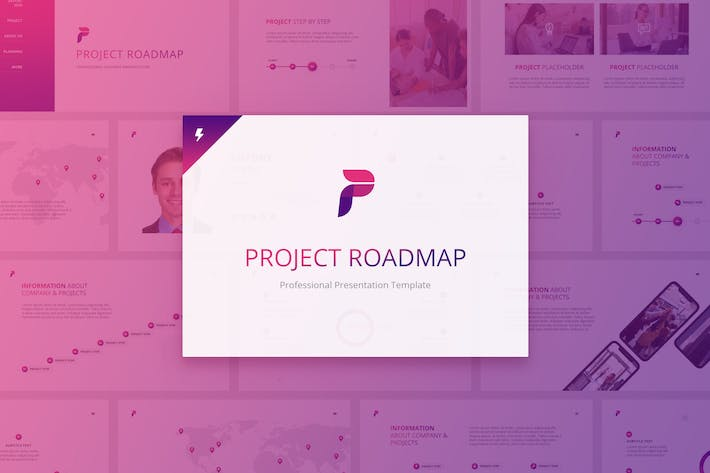 Thumbnail for Project Roadmap for Keynote