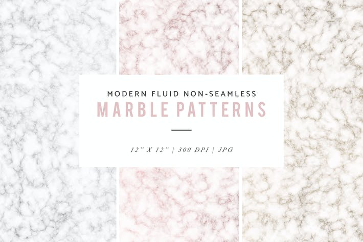 Thumbnail for Modern Fluid Non-Seamless Marble Patterns