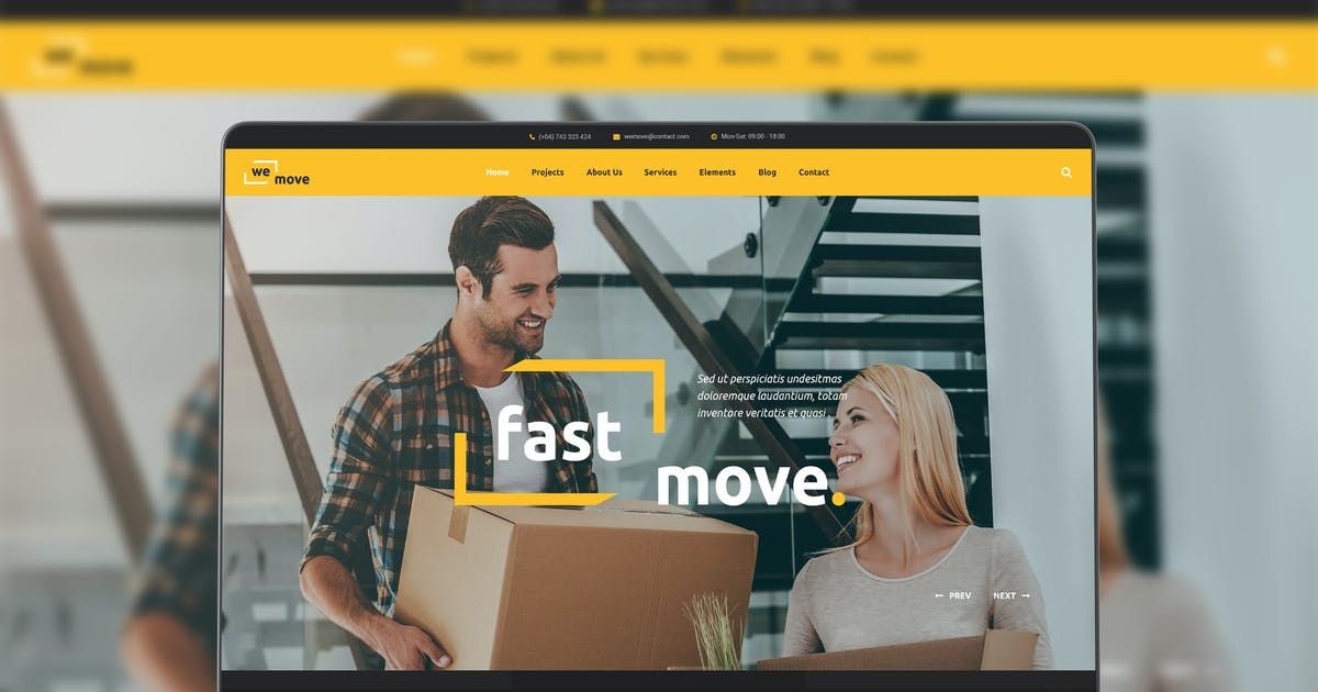 Download WeMove by modeltheme