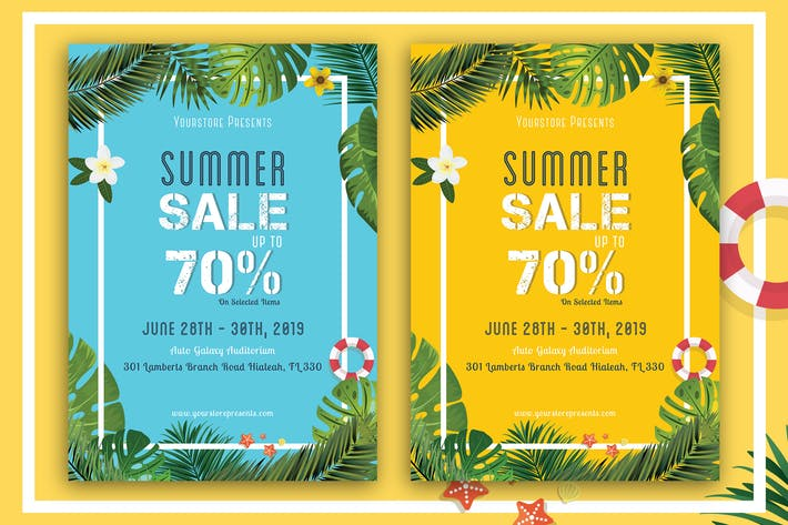 Thumbnail for Summer Sale Offer Flyer-02