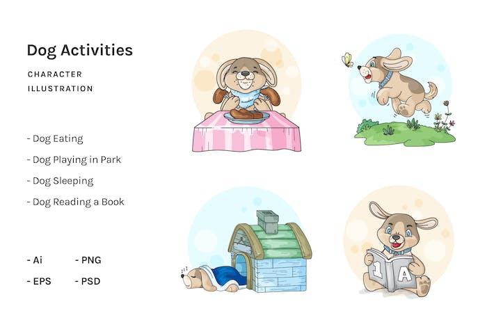 Thumbnail for Dog Cartoon Activities V.1